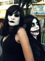 Carnival Party!- Jane and Jeff the killer by haozeke93