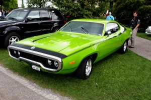 Plymouth Roadrunner Green by christiAnpure