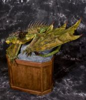 Large Scale River Dragon New Photoshoot 2 by RavendarkCreations