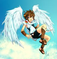 Kid Icarus by LazyTurtle