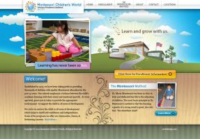 Montessori School Website by Cameron-Schuyler