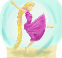 Kingdom Dance - Rapunzel - Tangled by Bapazu