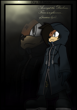 .:Crossover:. Amongst the Darkness by XaveNDaNirvana