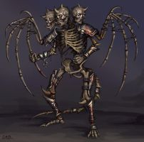 Skeleton by Candra
