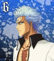 Grimmjow Jeagerjacques by rtk12