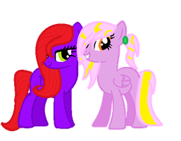 ::GIFT:: CrystalClue And StarSwirl by NatalkaPony