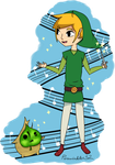 Link and Makar by Perewinkle32