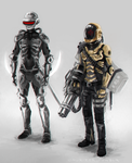 Daft Punk Combat Mode Concept by omurizer