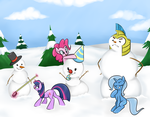 Snowponies by TheSassyJessy