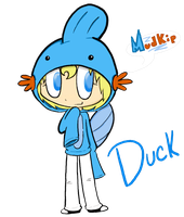 Mudkip Suit by DuckxDuck
