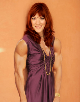 Muscular Jennifer Carpenter by MyNameIsNotRelevant