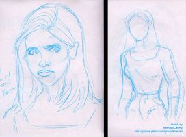 Buffy sketches by Thinkbolt