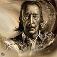 Salvador Dali by vdlm