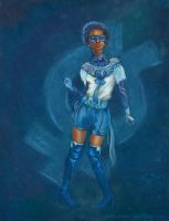 Odera Redesigns Sailor Mercury by Odyism