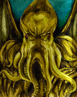The great Cthulhu by TheSocietyPage