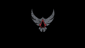 Assassin's Creed Eagle Logo (Black) by SophieAuditore