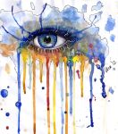 Eye Spash 2 by OrchidOwl