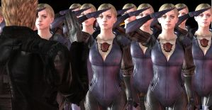 Wesker's army by xUmbrellaCo