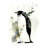 InkAnimals - Penguin by Duffzilla