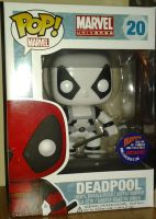 DEADPOOL bobble by drakewl75