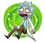 Rick Sanchez by Lain444