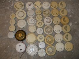 Smoke alarm collection by cheetahmikey