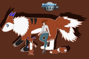 Digimon TheFinal- Team Brown by Lizuka-Hayashi