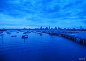 A View of from St. Kilda Pier by evan-p