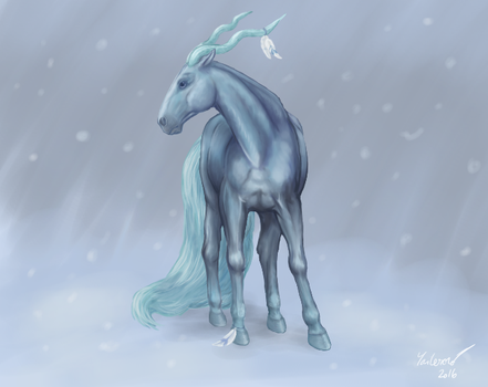 Winter creature by BlackLenk