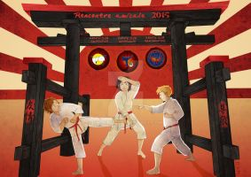 .: Gift : Karate club :. by Snouffy