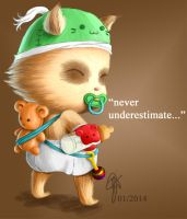 Baby Teemo by oOCrazyKittyOo