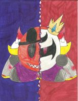 Two Sides To The King by iMetaKnight