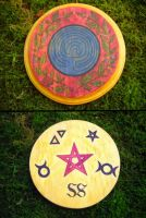 Nightshade Labyrinth Pentacle by Lolair