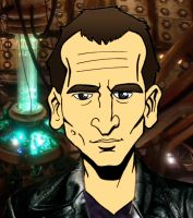 Doctor Christopher Eccleston by UnknownX