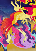 Some of the Brightest Stars Fall the Hardest by animalpainter