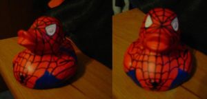 Spider-Man Duck by msfurious