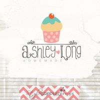 Cupcake logo premade by StyleGraphicDesign