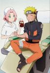 NARUSAKU - DONATION BLOOD  ORIGINAL ANIME PICTURE by MARSHALLSTAR