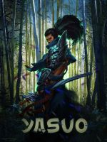 Yasuo - League of Legends by notLeon