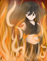 The Flame That Burns by chaosphoniex