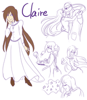 AMNT: Don's Wife - Claire Concept Sketches by RouletteSimone