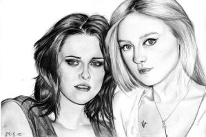 Kristen and Dakota by han23