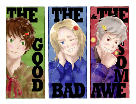 The Good The Bad The Awesome by GhostoftheCarousel