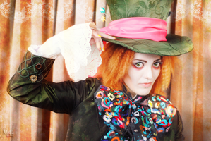 Alice in Wonderland - Mad Hatter by Melali