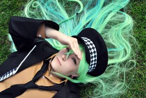 Amnesia - Ukyo - Laying in the grass by aggestardust