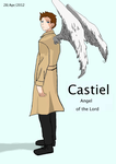 CASTIEL - Angel of the Lord by MurderousGirl97