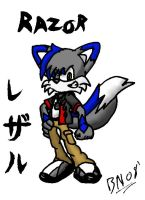 Razor Bookmark :colored: by mnkywitagun