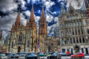 City Church HDR by DanielleMiner