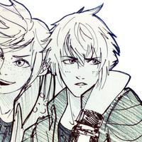 Prompto and Noctis by OMG-L3NA