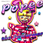 Popee the performer by FiddleMyJiggles